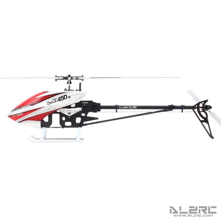 ALZRC-Devil 450 Pro V2 SDC/DFC Super Combo Helicopter KIT RC ...