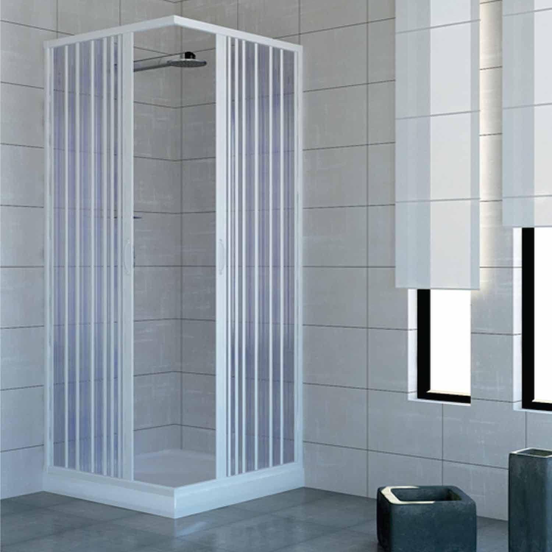 PVC ducha 70 x 70 con apertura central modelo Acquario