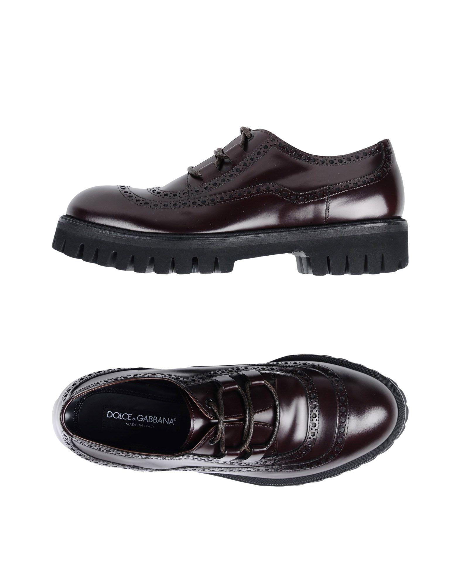 release info on get online best sale DOLCE & GABBANA Laced shoes - Footwear   Mens Shoes ...