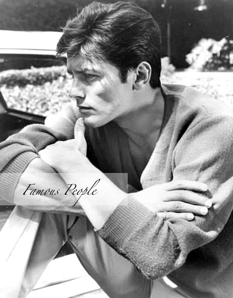 Alain Delon , from Iryna