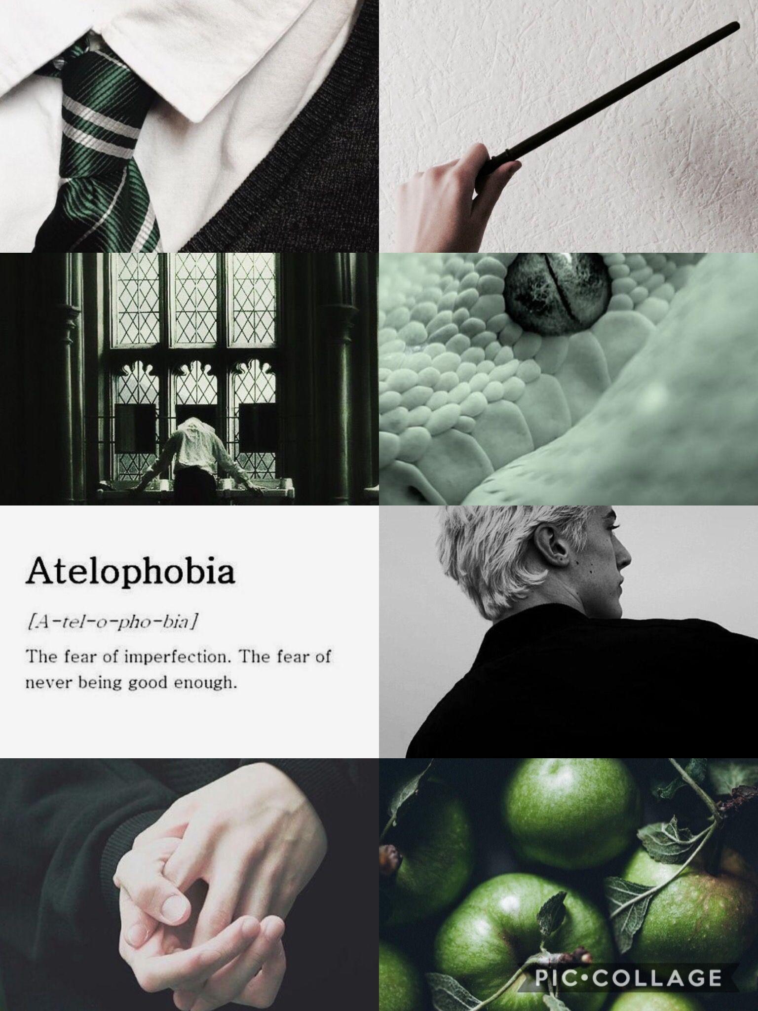 Draco Malfoy Aesthetic Slytherinaesthetic Slytherin