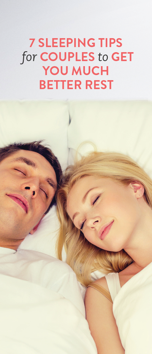 7 sleeping tips for long term couples