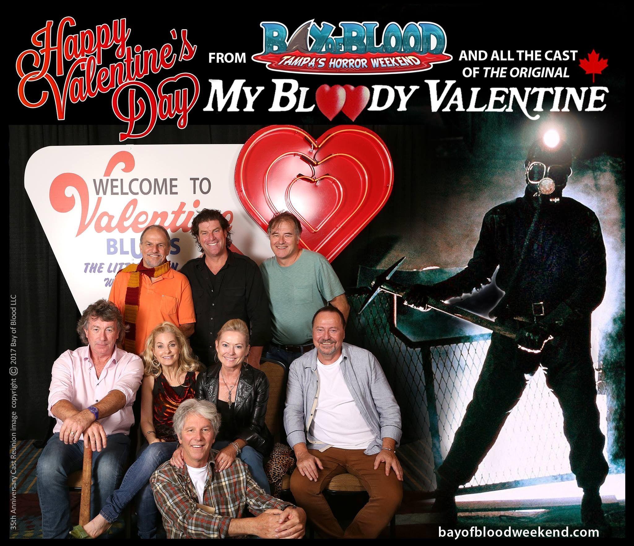 Pin On My Bloody Valentine 1981