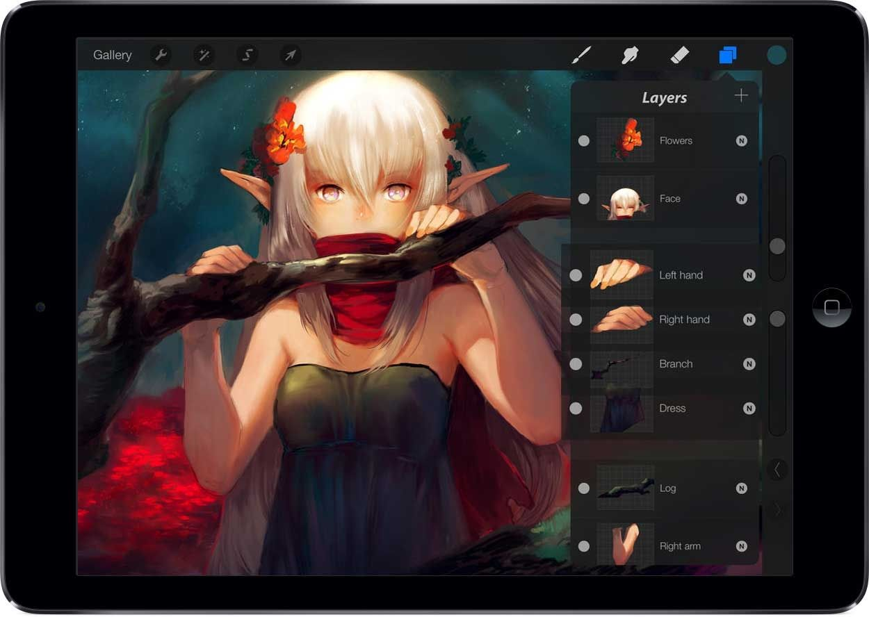 The 8 best apps for artists draw, sketch & paint on your