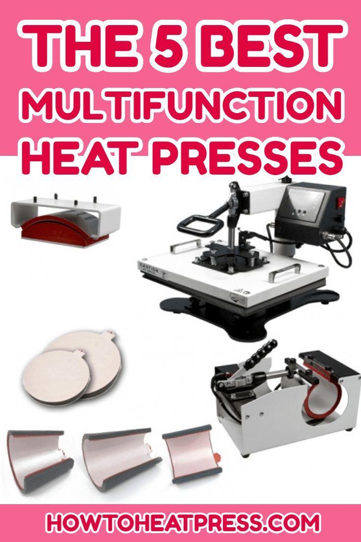 The Best Multifunction Heat Press Machines | Heat transfer ...