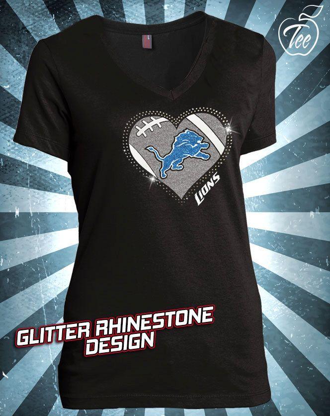 Glitter Bling T-shirt - Ladies Vneck