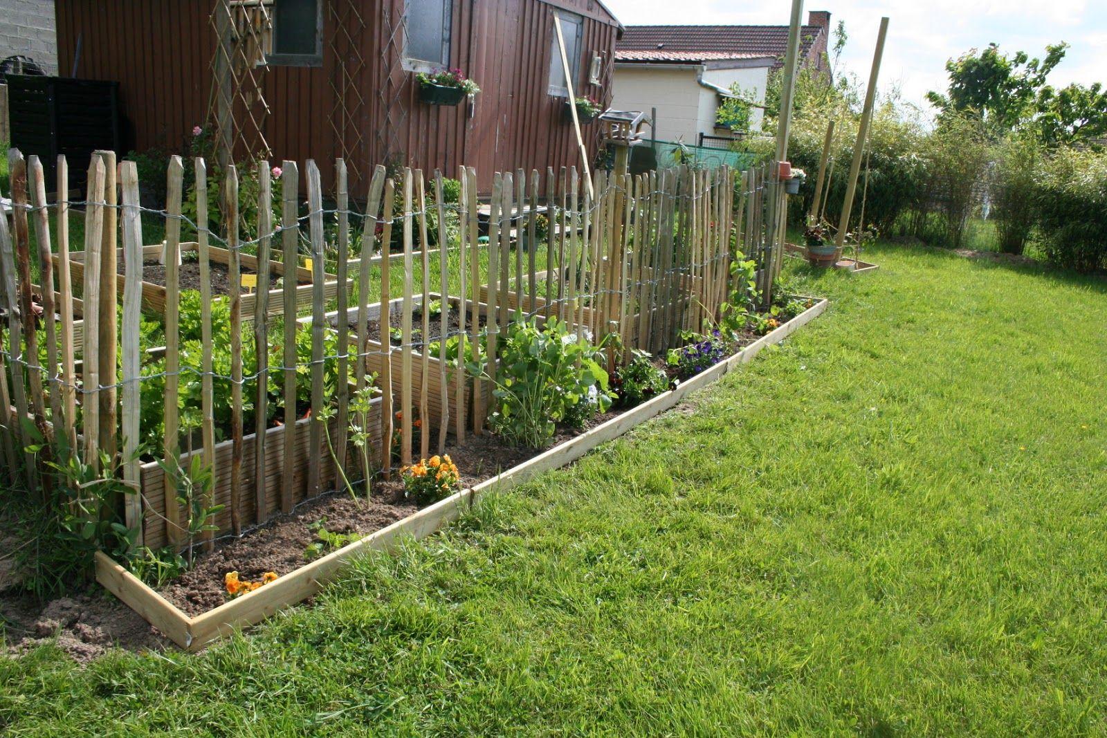 Mon Jardin Ophile Du Temps Des Bordures Aux Potagers Bordures  # Bordure De Jardin Potager