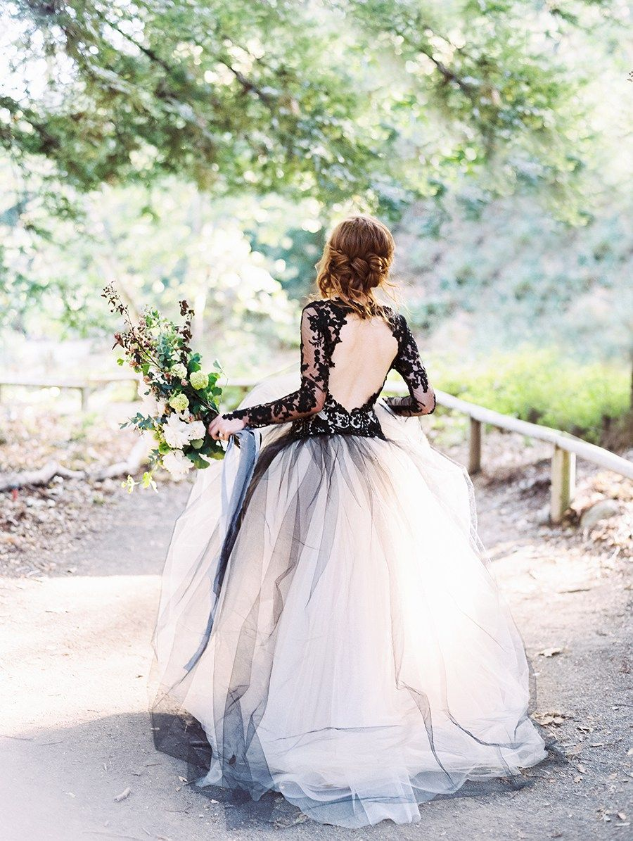 These chic unique halloween wedding ideas are a must see white