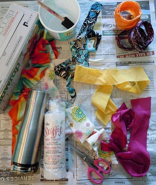 DIY Fabric Bangles