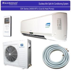 Ramsond 24 000 Btu 2 Ton Ductless Mini Split Air Conditioner And