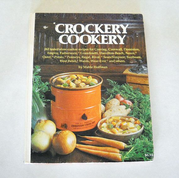 Crock Pot: 2,000 Delicious Crock Pot Recipes Cookbook by ... |Vintage Recipe Book Crock Pot