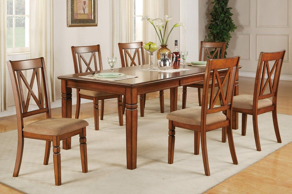 7 Piece Cherry Dining Set From Gothic Furniture With Images