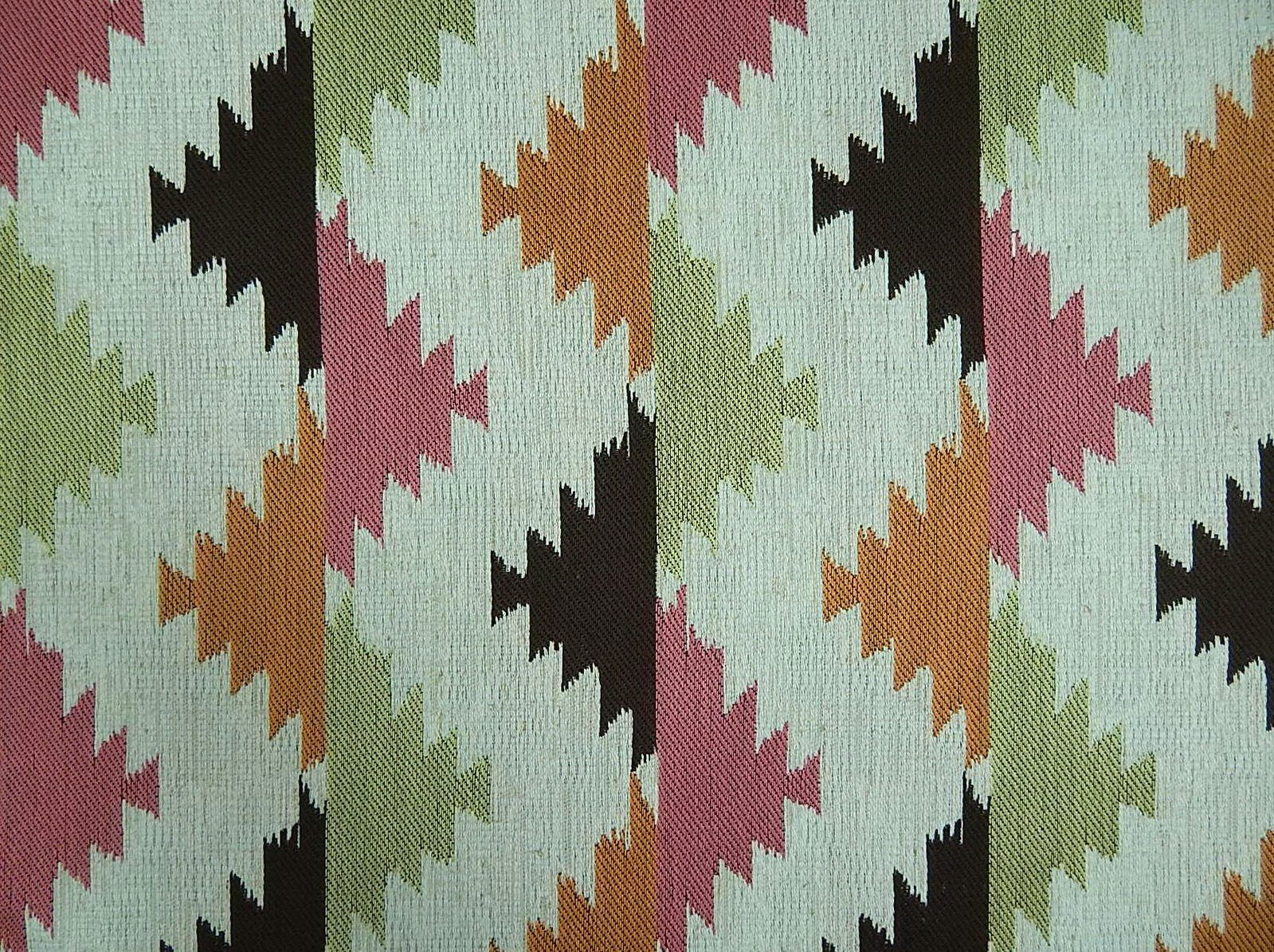 Vision Fabrics Cimarron Cactus a southwestern lodge look in pink ...
