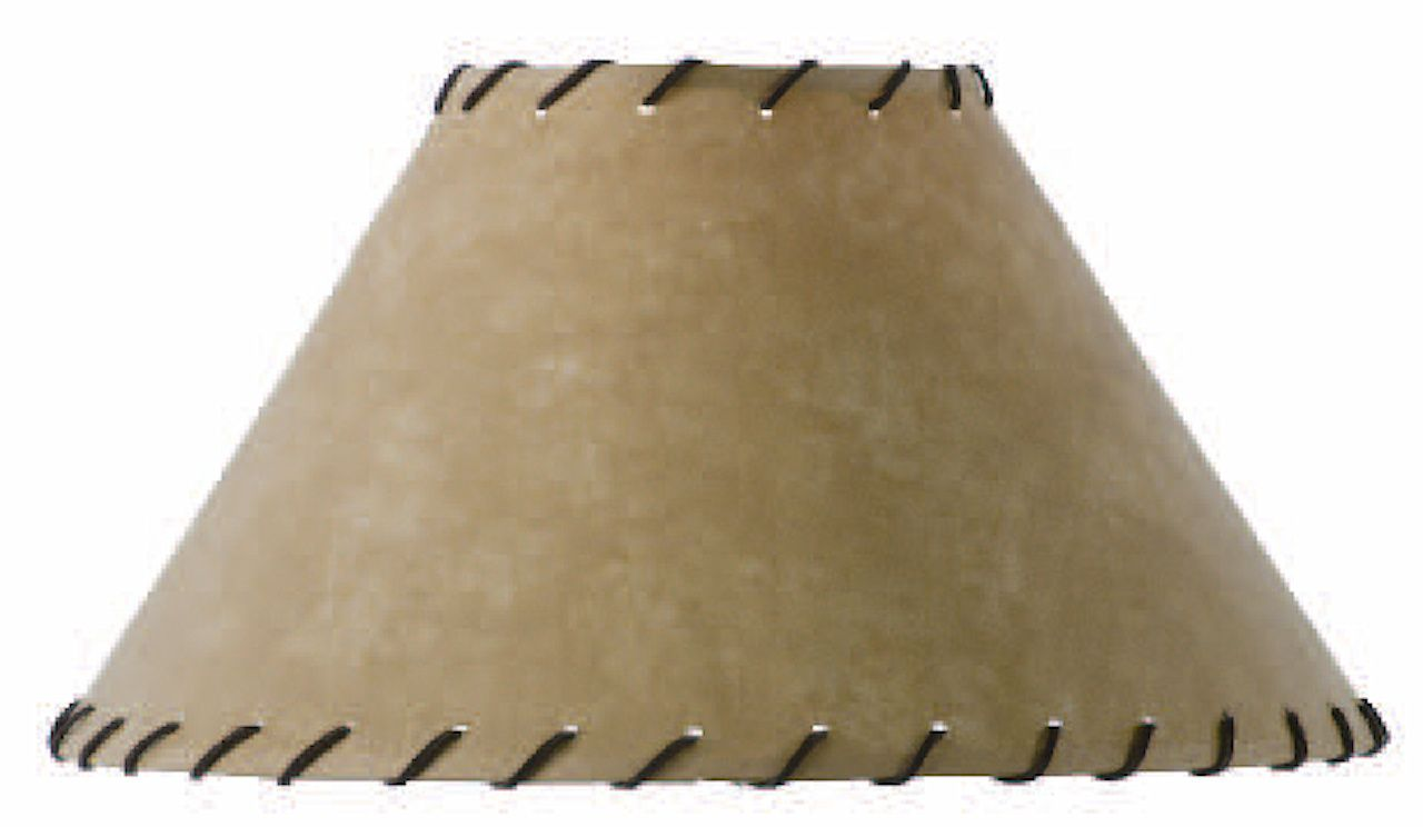 Parchment floor lamp shade with leather trim 22 inch lamp shades parchment floor lamp shade with leather trim 22 inch aloadofball Images