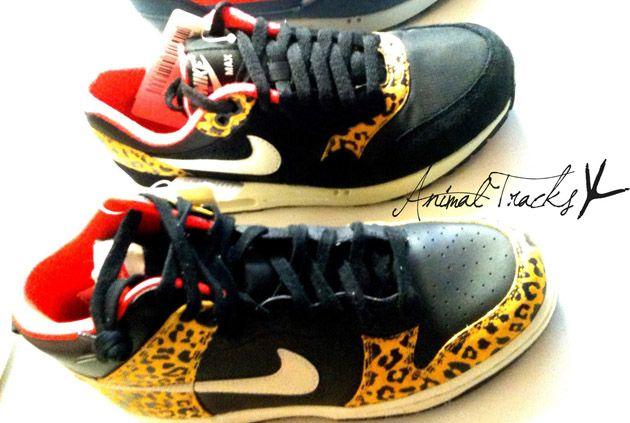Nike Air Max 1 Dunk High Leopard Pack Zima 2012 Nike Runners Nike Fashion Nike