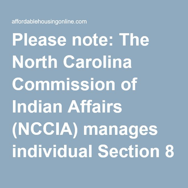 North Carolina Commission Of Indian Affairs In North Carolina North Carolina Affair Granville