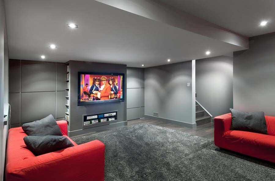 4 ideas para decorar un sótano moderno | Sótano moderno, Sótano y ...