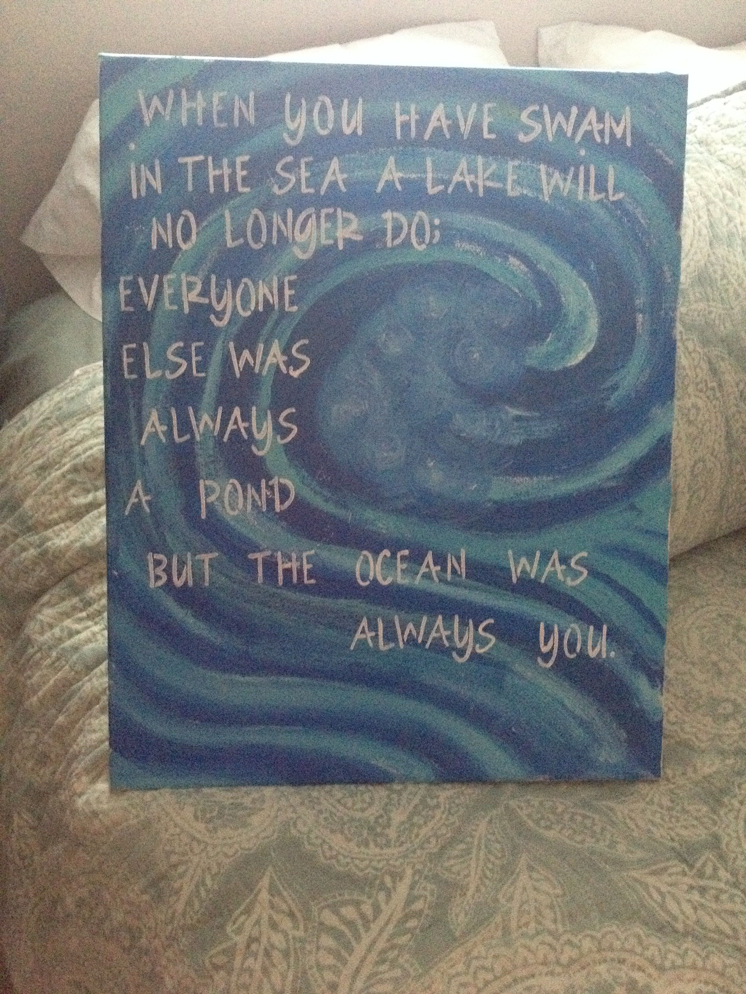 My first painting ever. Made it for my boyfriend for Christmas ...