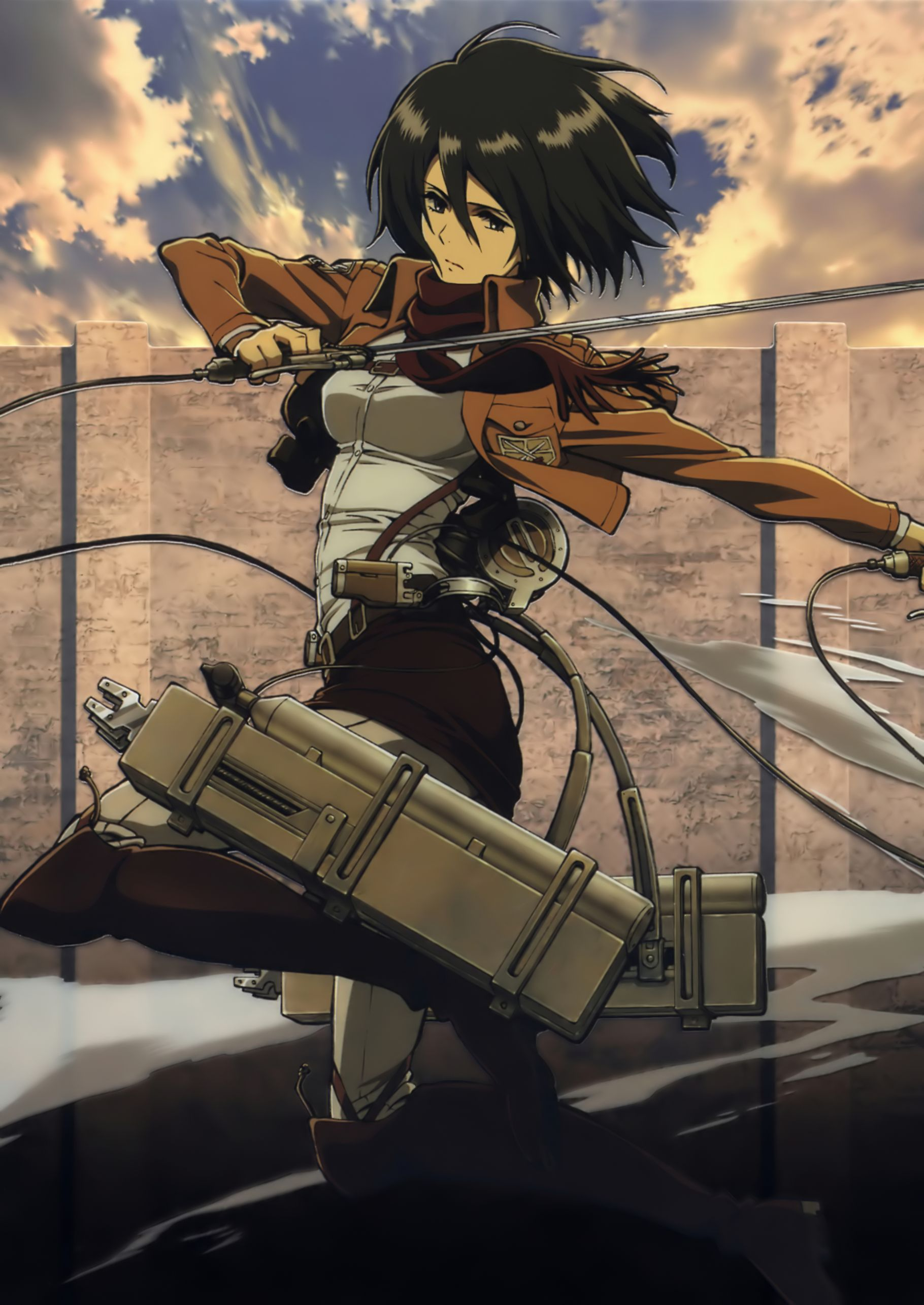 Would like to cosplay as Mikasa Ackerman for AnimeFest