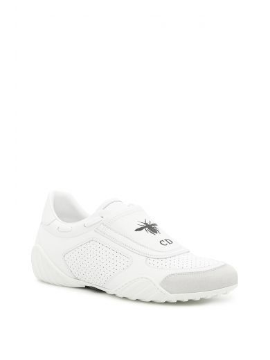 Dior D-fence Sneakers In Optic White