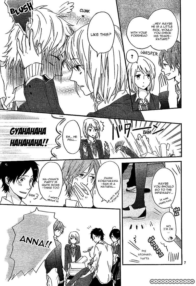 Nijiiro days mizuno minami 2 page 7 manga anime ships