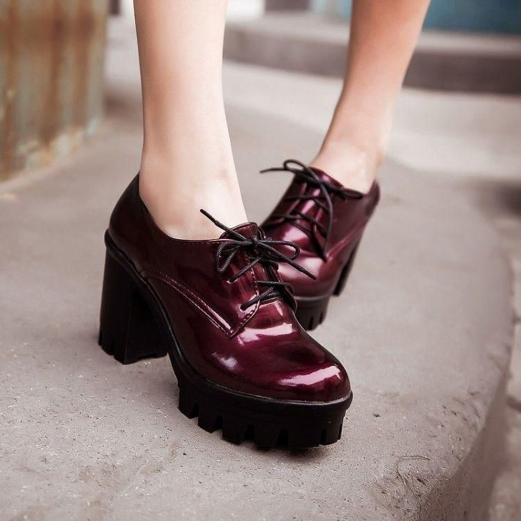 Fashion Women/'s punk Platform High Chuncky Heels Riding Ankle Boots Shoes Size