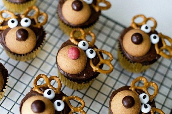 ideen fuer muffins dekorieren  bilder zu jedem