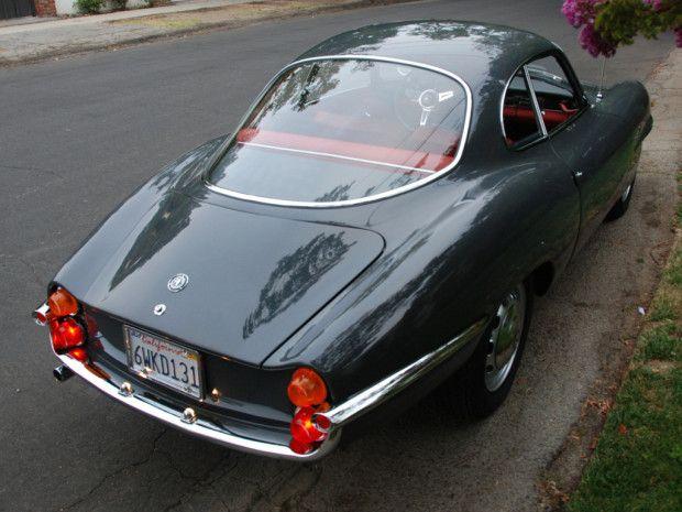 1965 Alfa Romeo Giulia SS Coupe For Sale Front Graphite Gray Rear