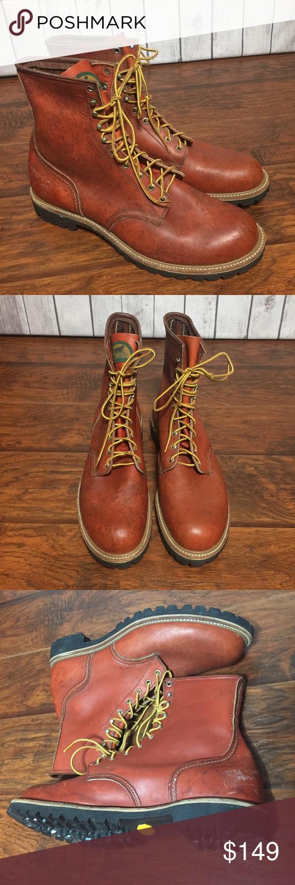 Irish Setter Work Boots 899 Mens 15 D Logger Work boots