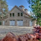 Black Hills Barn Home - Traditional - Family Room - other metro - by Sand Creek Post & Beam