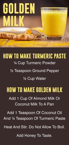 Golden Milk Your Summer Replacement For Coffee Golden Milk