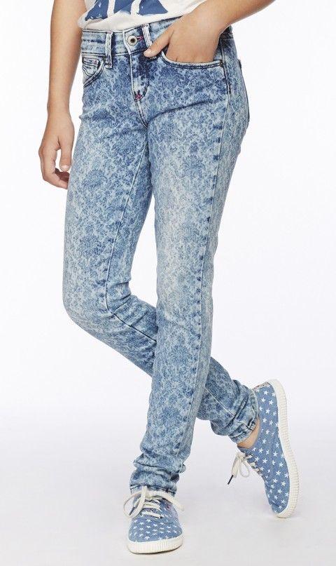 Summer brocade laser print pepe jeans