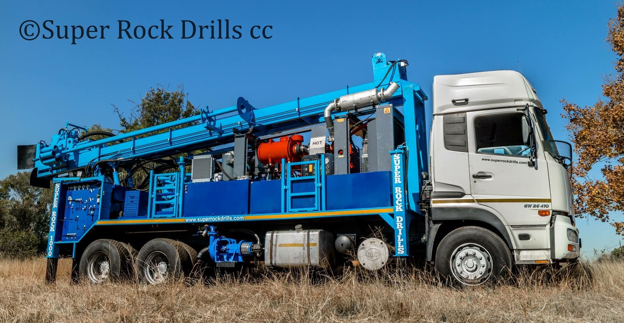 Sr1000 Water Well Drill Rig Water Well Drilling Well Drilling Drilling Rig