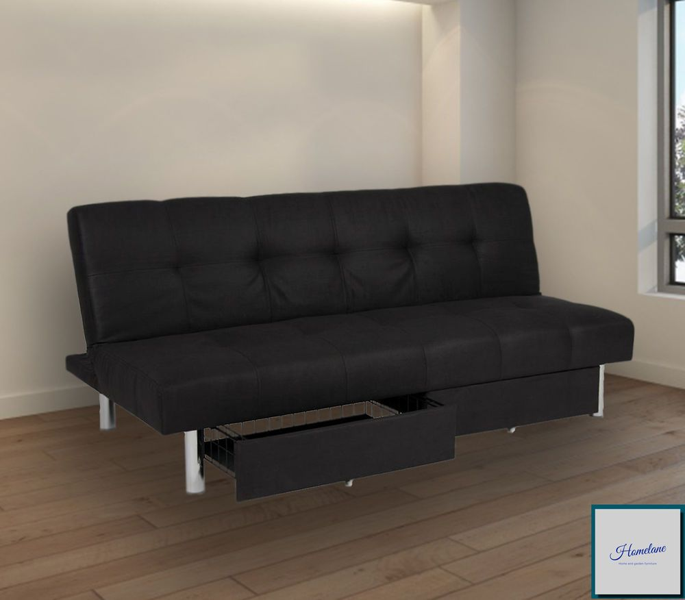 Futon Sofa Bed Foldable Couch
