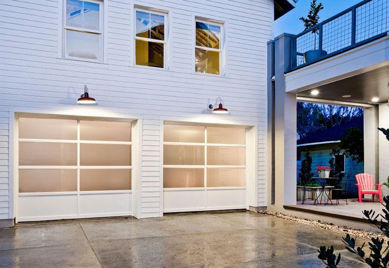 Modern Garage Doors Barn Lights Railings 2 Over 1 Window Style Garagewownow Com Garage Door Styles Modern Garage Doors Glass Garage Door