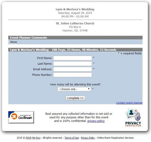 Need An Easy Way To Manage Your Guests Rsvps Online Check Out These Rsvp