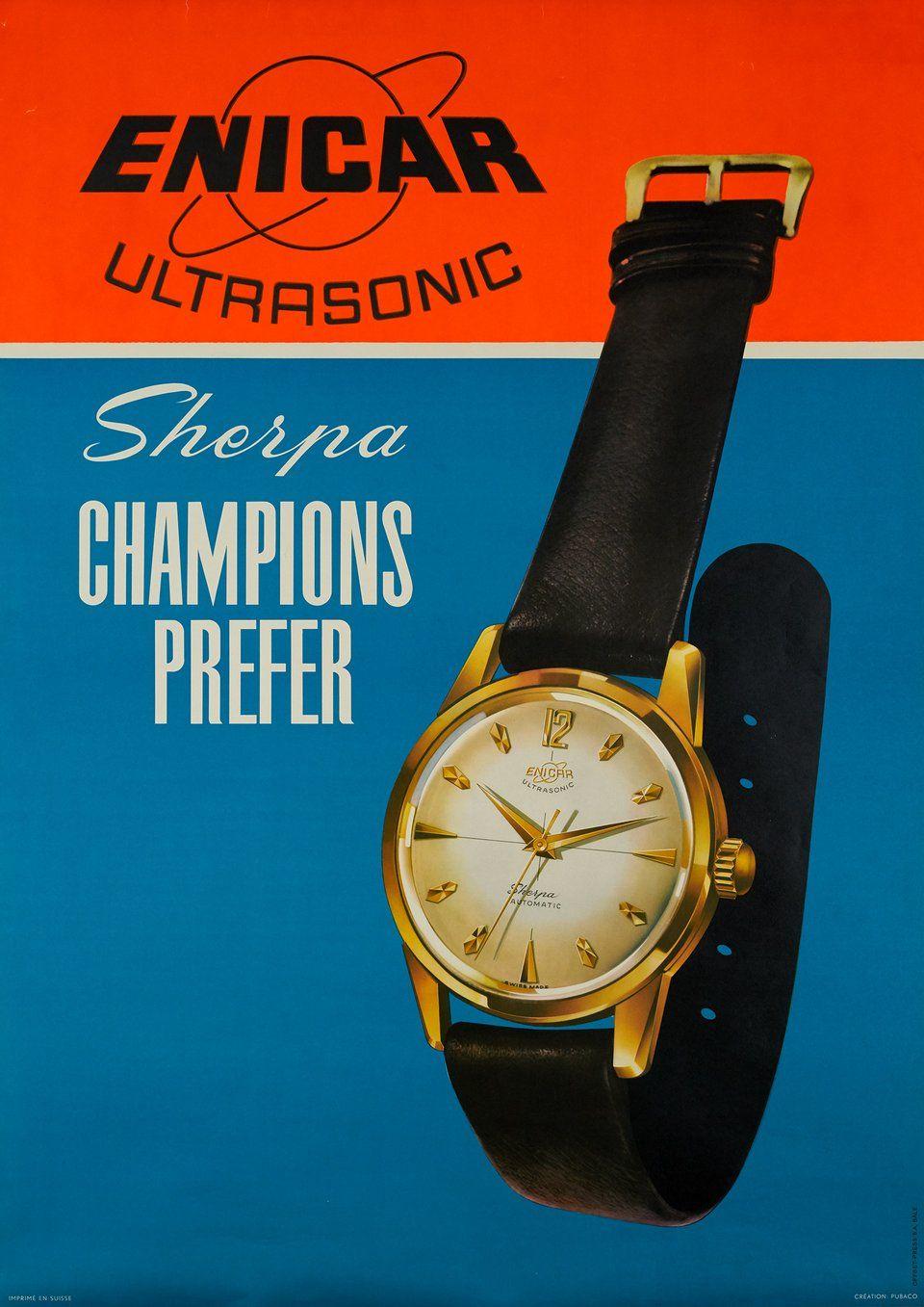 0b90c888a3a9 Enicar ultrasonic. PUBACO (1960 circa)