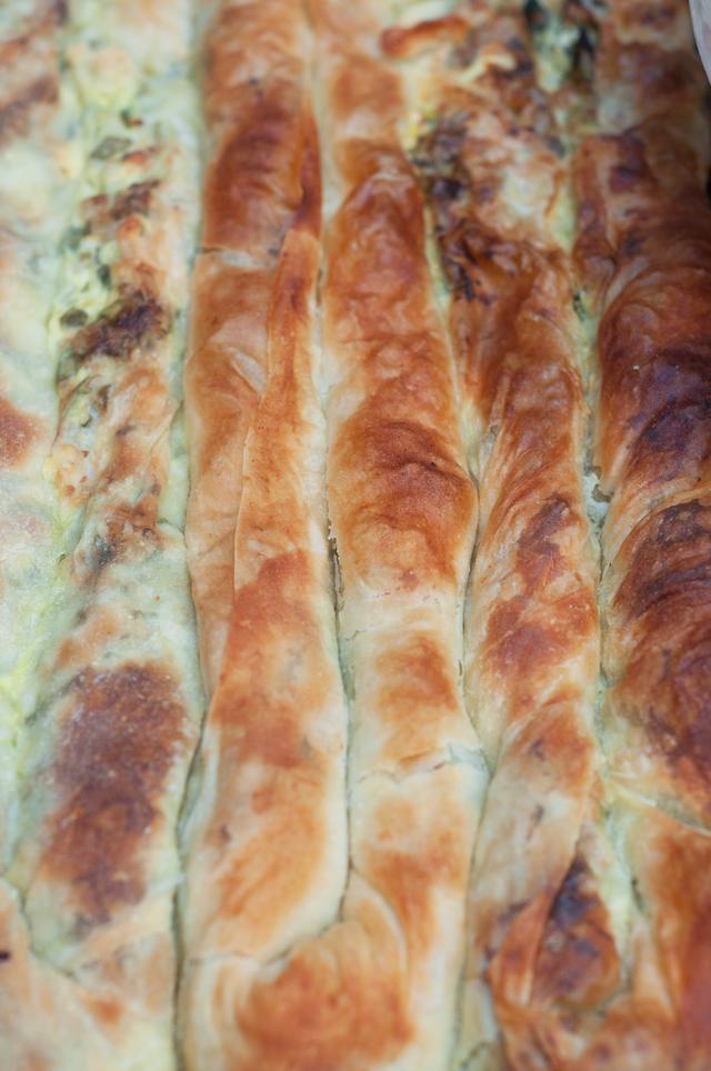 Spinach & Cheese Pita