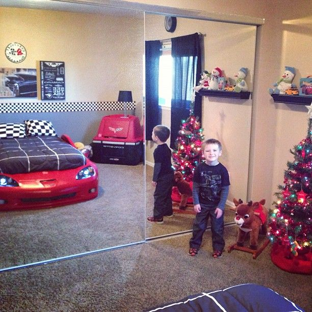Great Awesome Corvette Bedroom!