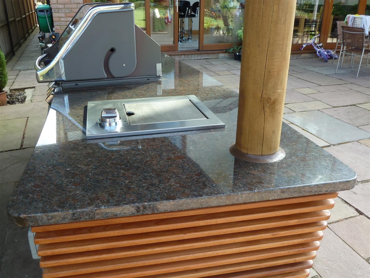 Granite Suade BBQ top - St Albans  www.gworktops.co.uk