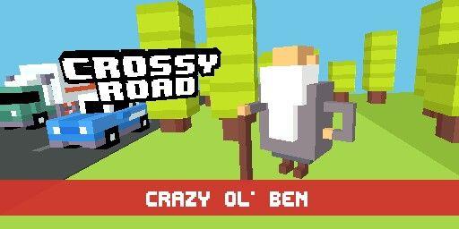 Got crazy ol ben Crossy road, Games, Queens guard