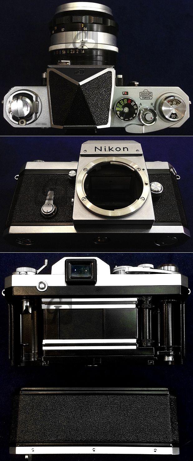"【Nikon】ニコン""F""640万台 初期型一眼レフフィルムカメラは 約 ..."