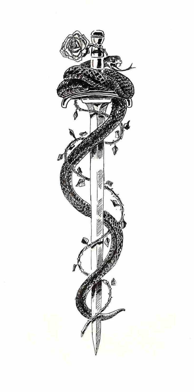 Photo of Dessins et significations de l'histoire du tatouage de serpent Tatring – Comme Nietzsche a dit le serpent …