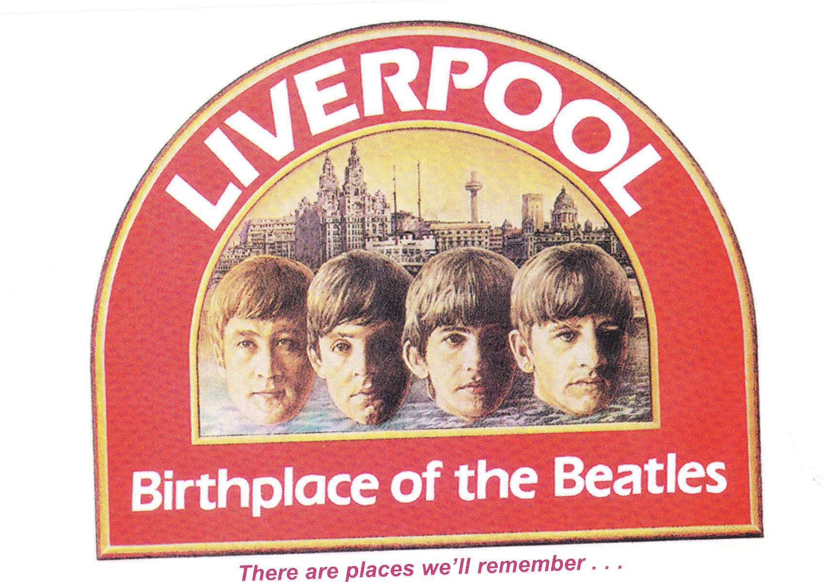 """""""All four members of the Beatles were born within a 4 mile radius of the City centre.  They all attended school in Liverpool and went on to dominate the musical landscape of the City before turning their attention to the rest of the world.  www.caverncitytours.com"""""""