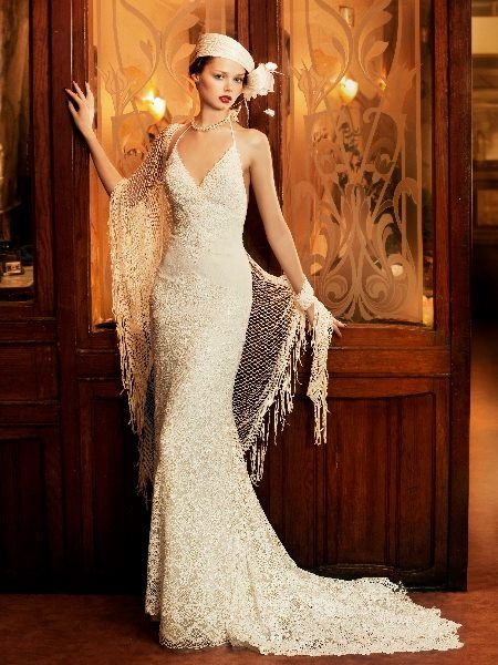 Brautkleid | Ropa | Pinterest | Gatsby, Vintage glam and Corsage