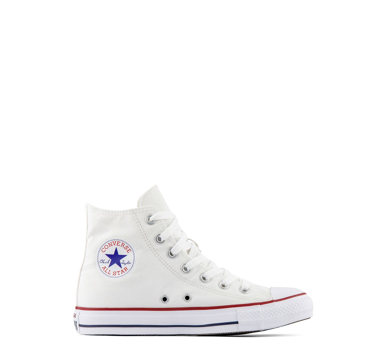 Converse Chuck Taylor All Star Hi Top Kids Optic White