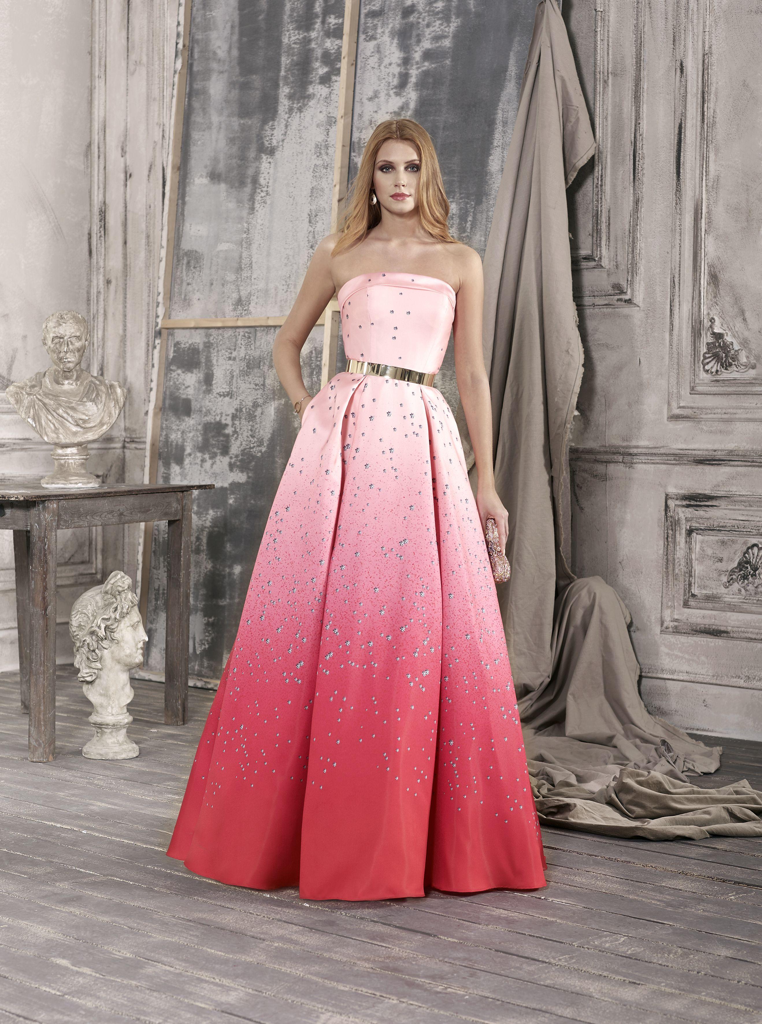Vestido de Fiesta de Fara Fiesta - 6162 #wedding #bodas #boda ...