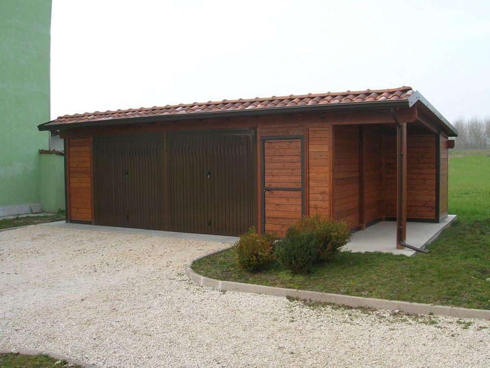Garage modello Plus, dimensioni cm 700 x 900. Soffitto e