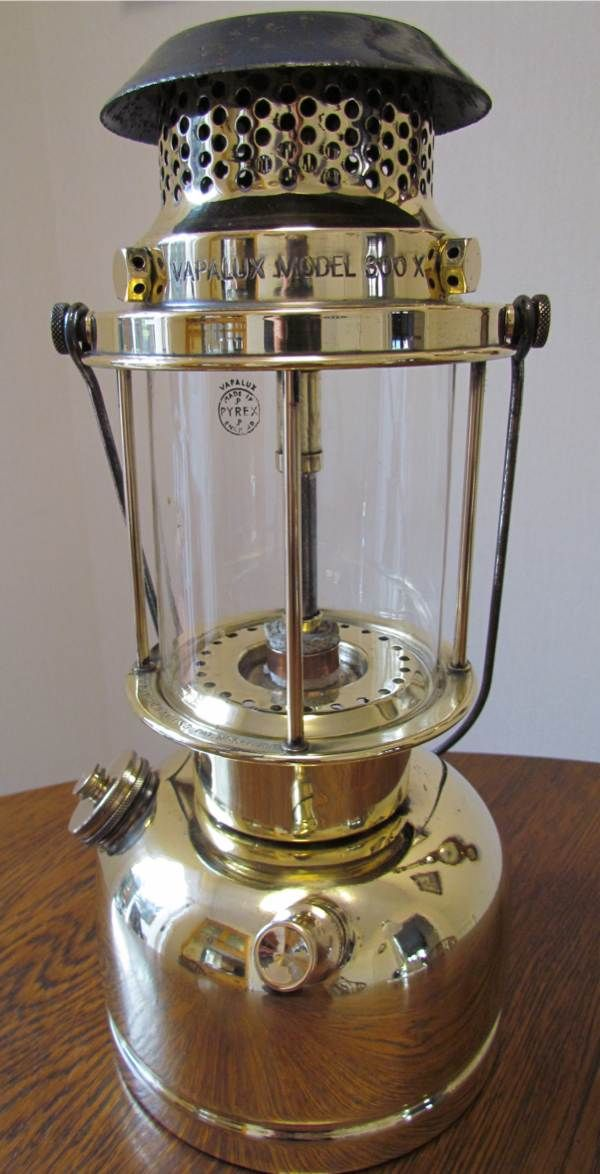 1947-48 Vapalux 300X - United Kingdom | Gas Lantern | Gas