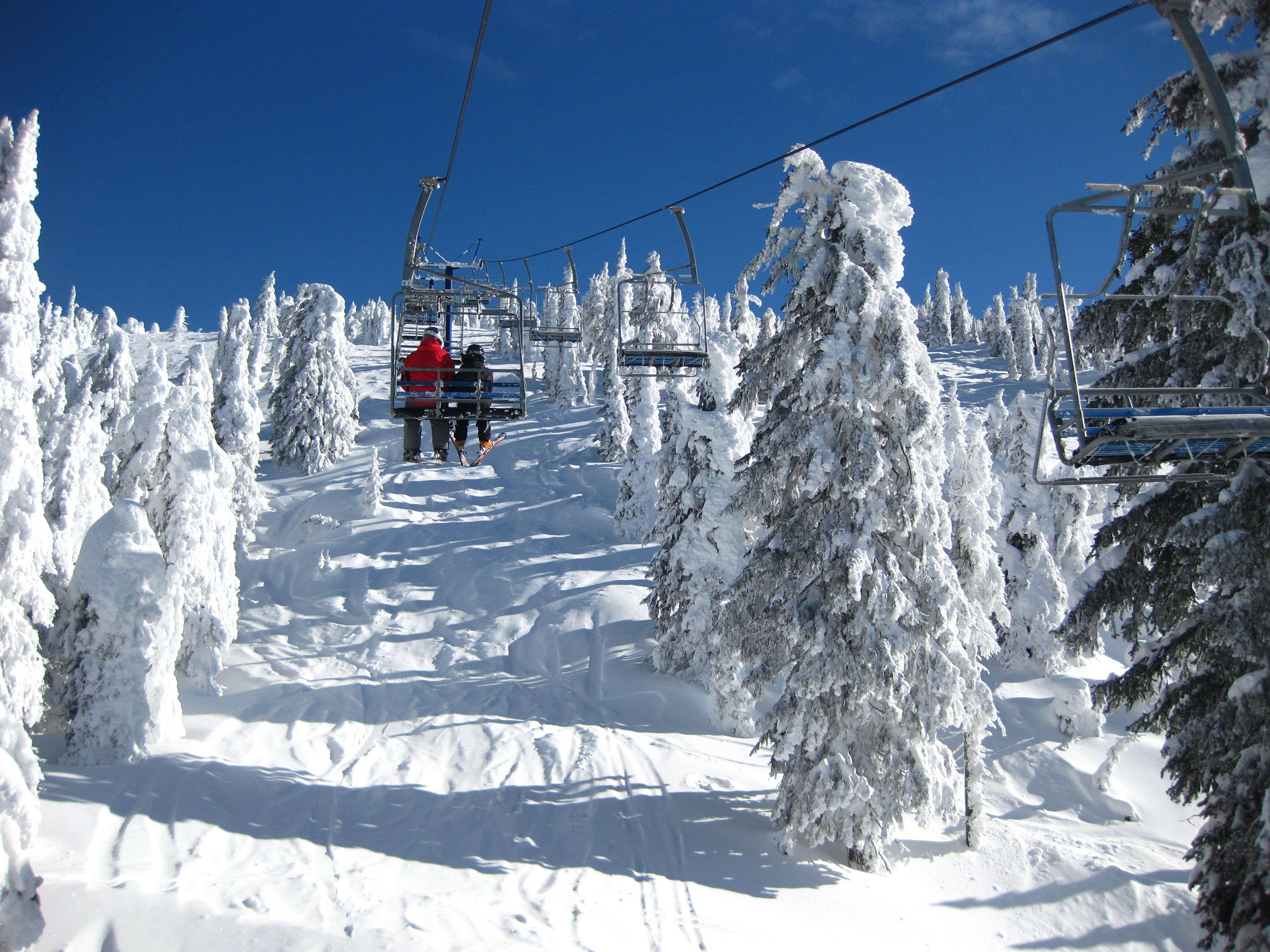 Taken from the Powder Chair, Big White, BC, Canada | ALASKA,CANADA ...